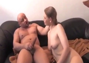 Brother and sister have a sweet incest action